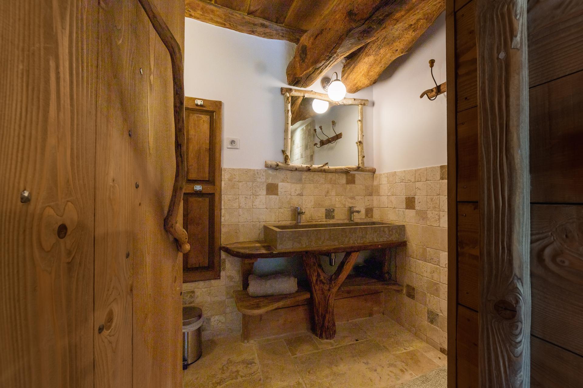 salle bain gite de charme 4 personnes vercors
