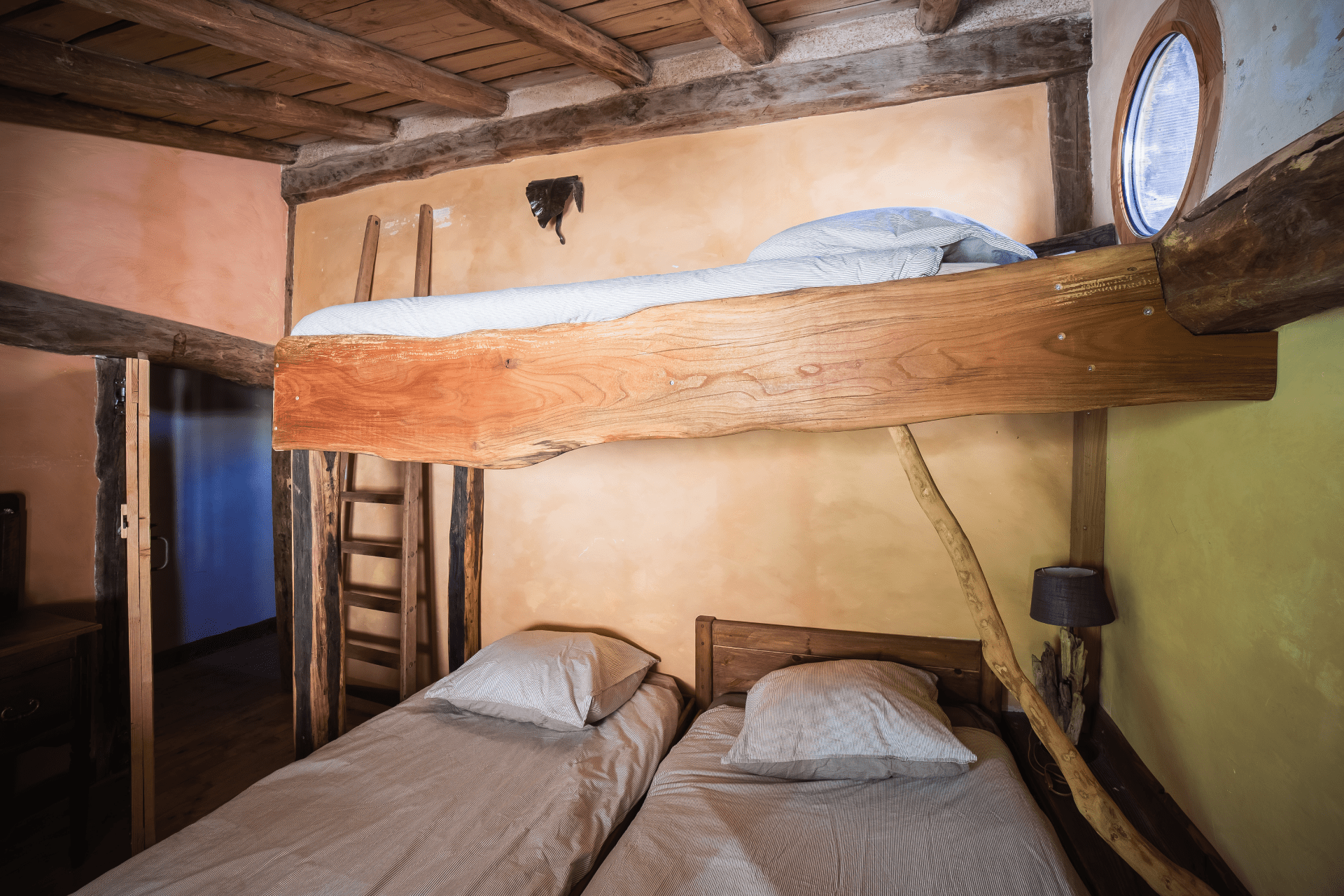 lits superposés gite 11 personnes vercors