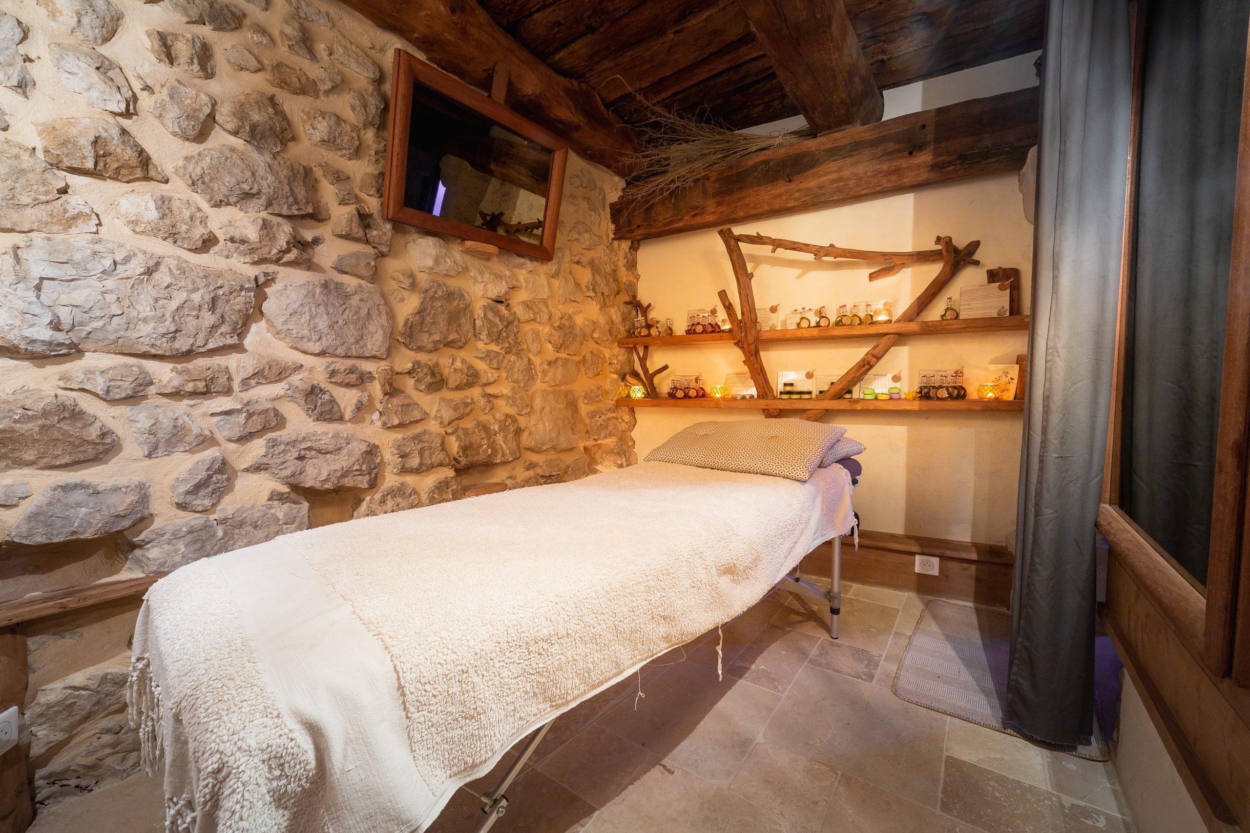 salle massage spa vercors