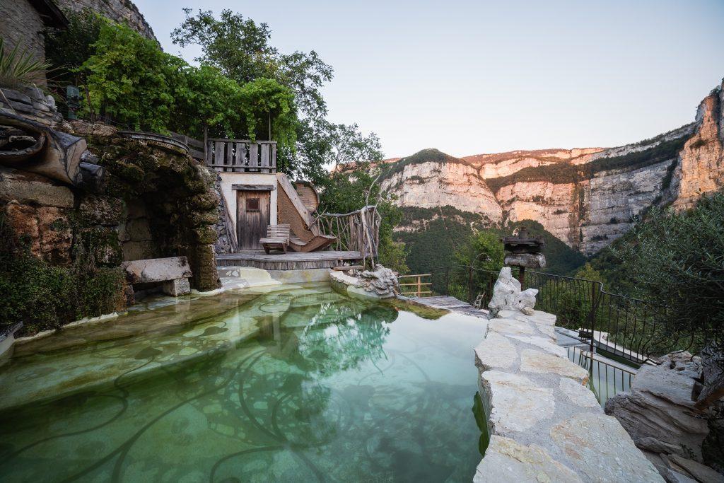 Piscine Choranche, bassin naturel vercors