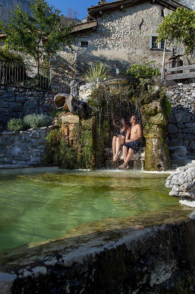 adultes détente bassin naturel gite vercors